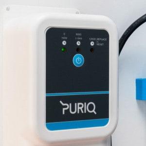 Panneau de contrôle traitement UV piscine PURIQ