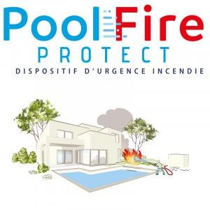 Dispositif d'urgence incendie Pool Fire protect spécial piscine