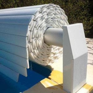 Volet piscine hors-sol automatique Silver Roll