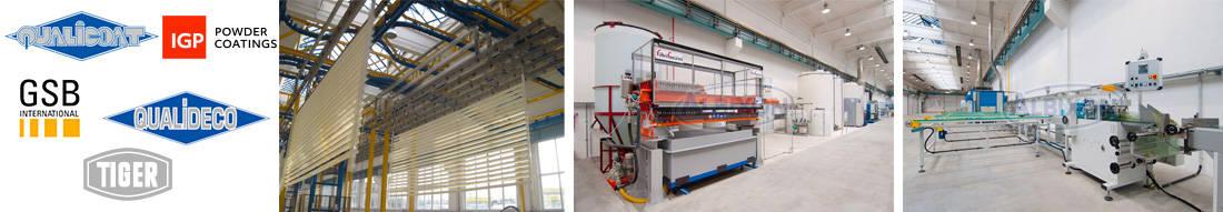 plus grande usine en europe de thermolaquage sur aluminium